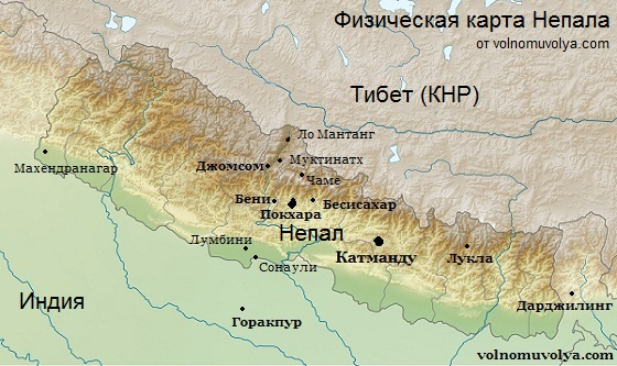 physical-map-of-Nepal