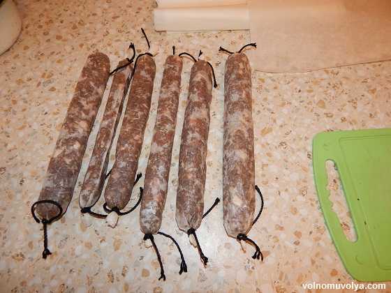 домашняя-колбаса