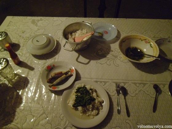 ужин в Индонезии