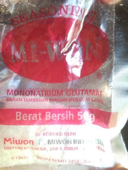 mononatrium-glutamat