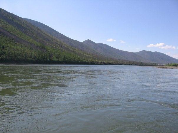 на реке Колыма