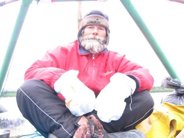 путешественник Юрий Прокофьев на Колыме