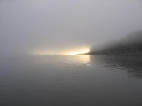 туман на Лене