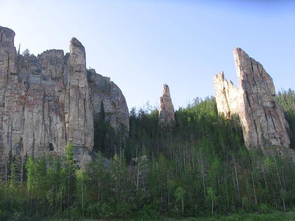У Ленских столбов