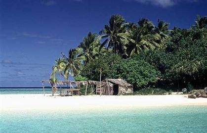 Попадают на необитаемый остров
